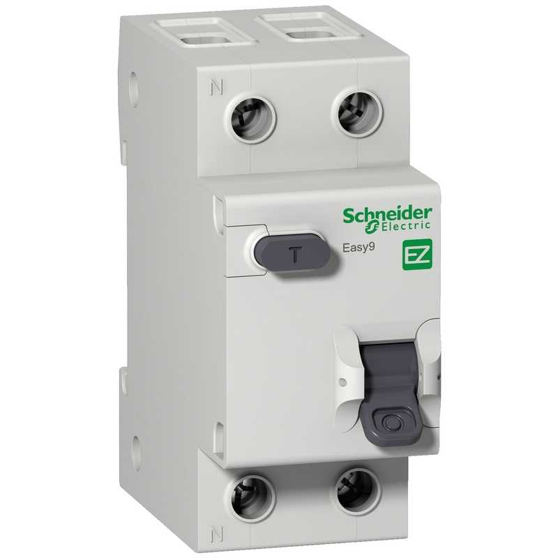 Дифф. авт. выкл. EASY 9 1П+Н 16А/30мА АС Schneider Electric